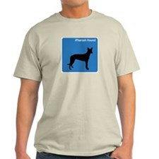 Pharoah Hound (clean blue) T-Shirt