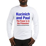 Cute Kucinich 2008 Long Sleeve T-Shirt