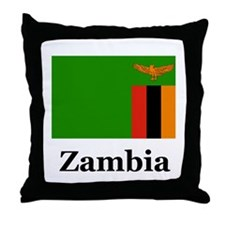Zambian Throw Pillow
