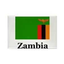 Zambian Rectangle Magnet (100 pack)
