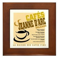 French Cafe Framed Tile