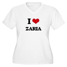 I Love Zaria Plus Size T-Shirt