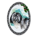 Lowchen (Little Lion Dog) Oval Ornament