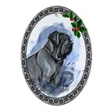 Neapolitan Mastiff Oval Ornament