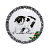 Manx Kitty Ornament (Round)