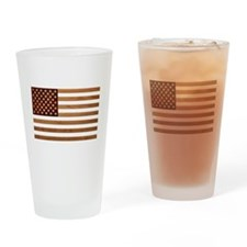 Wooden Glory Drinking Glass
