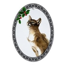 Abyssinian Oval Ornament
