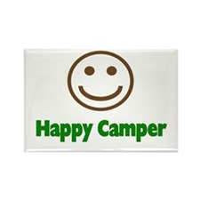 Happy Camper Rectangle Magnet (100 pack)