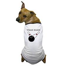 Split Pick Up Bowling Team Dog T-Shirt