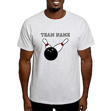 Split Pick Up Bowling Team T-Shirt