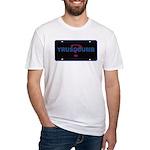 YRUSODUMB? Fitted T-Shirt