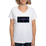 YRUSODUMB? Women's V-Neck T-Shirt
