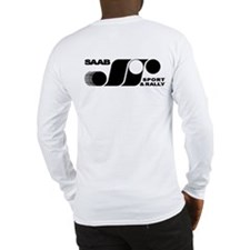 Black and White Sport & Rally long sleeve T