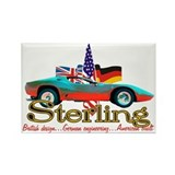 Cute Sterling Rectangle Magnet (10 pack)