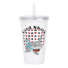 Card Shark Acrylic Double-Wall Tumbler