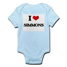 I Love Simmons Body Suit