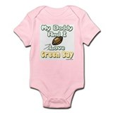 My Daddy and I Love Green Bay Infant Bodysuit