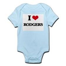 I Love Rodgers Body Suit