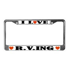RVing License Plate Frame