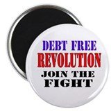 Debt Free Revolution Magnet