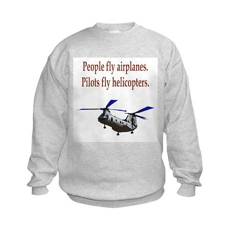 Heli pilots - CH-46 Kids Sweatshirt