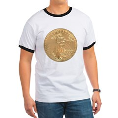 Gold Liberty 1986 Ringer T