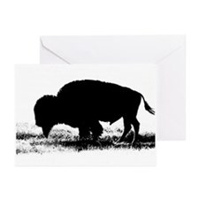 Buffalo Nickel Greeting Cards (Pk of 10)