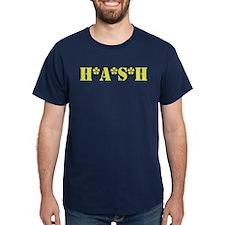 H*A*S*H Navy Blue T-Shirt