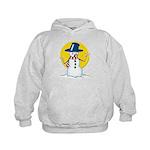 Evil Snowman Kids Hoodie