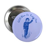 "Blue Tiny Tim 2.25"" Button (100 pack)"
