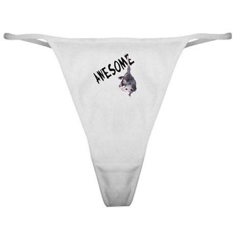 Awesome Possum Classic Thong