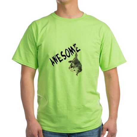 Awesome Possum Green T-Shirt