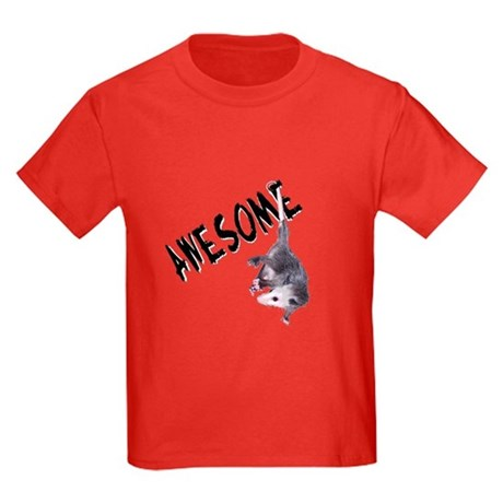 Awesome Possum Kids Dark T-Shirt