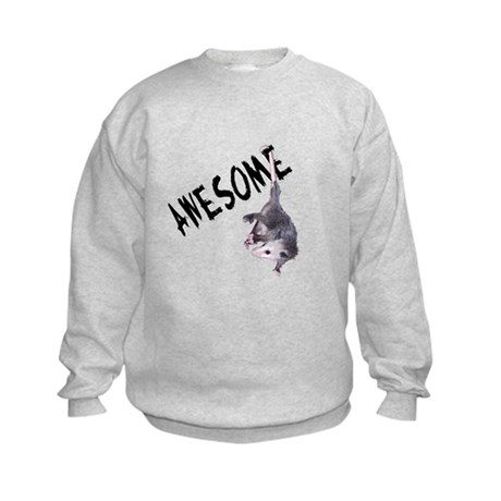 Awesome Possum Kids Sweatshirt