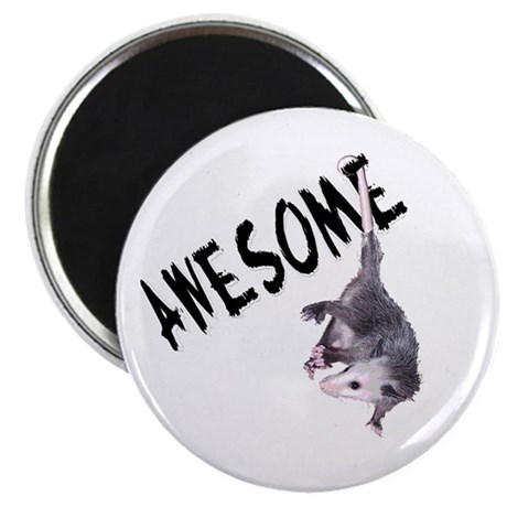 "Awesome Possum 2.25"" Magnet (10 pack)"