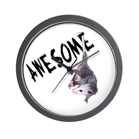 Awesome Possum Wall Clock
