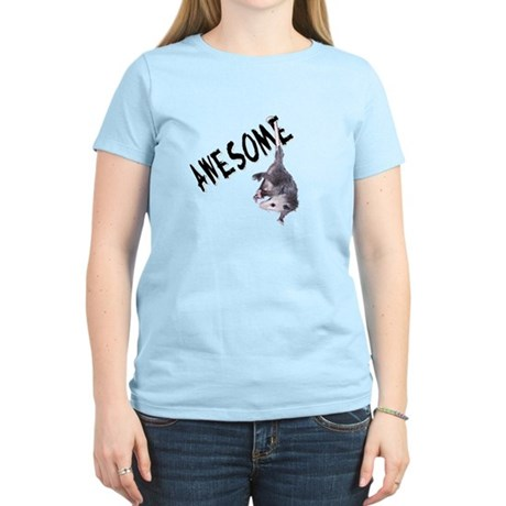 Awesome Possum Women's Light T-Shirt