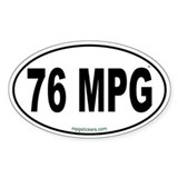 76 MPG Euro Decal