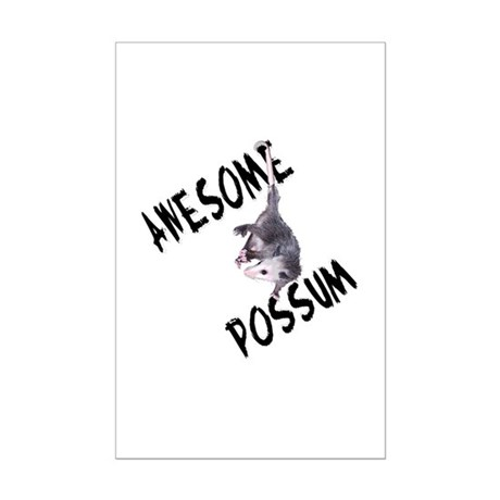 Awesome Possum Mini Poster Print