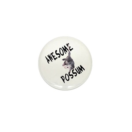Awesome Possum Mini Button (100 pack)