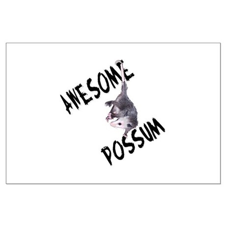 Awesome Possum Large Poster