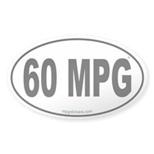 60 MPG Euro Decal