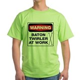 WARNING Baton Twirler T-Shirt