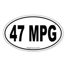 47 MPG Euro Decal