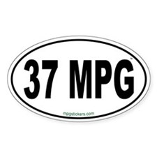 37 MPG Euro Decal