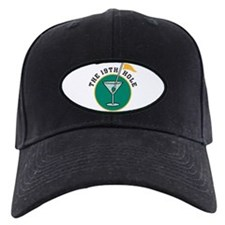 The 19th Hole Martini Baseball Hat