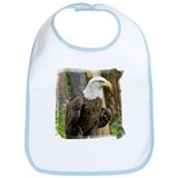Bald Eagle Looking Bib