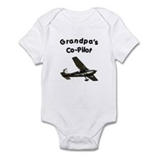 Grandpa's copilot Infant Bodysuit