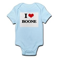 I Love Boone Body Suit