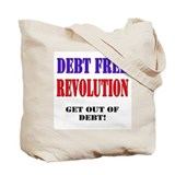 Debt Free Revolution Tote Bag
